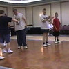 "Video Archive Clip 1999 (May 29) - Yaden Clogging - Julie (age 45, front row in USMC shirt), Jake (age 14, front row center in sleeveless shirt), and Steve (age 11, front row far end in red shirt) dance the ""Shout & Feel It"" routine with instructor Denise Baird - Memorial Day Weekend Clogging Workshop - Columbus, OH - Clogging Memoirs Series (2 min 42 sec)"