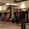 "Video Archive Clip 2014 (Oct 18) - Yaden Clogging - Julie, Jake, Sr. (age 30), and Steven (age 26) dance the ""Kinda Dig The Feeling"" routine - OktoberCLOGFest - Nashville, IN - Clogging Memoirs Series (3 min 11 sec)"