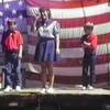 Video Archive Clip 1990 (Sept) - Yaden Clogging - Julie (age 36), Danny (age 12) & Matthew (age 9) clog at the Kerens Roundup - Kerens, TX - Clogging Memoirs Series (14 min 5 sec)