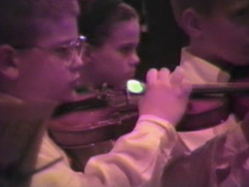 Video Archive Clip 1994 (Dec) - Yaden, Dan & Julie - Steven (age 6) and Jacob (age 10) perform at the Brinkerhoff Christmas Concert - Brinkerhoff Elementary School - Mansfield, OH - Mixed Relations Series - Edited in January 1995 (13 min 15 sec)