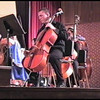 Video Archive Clip 2008 (May 4) - Yaden, Steven R. - Age 19 - Steven plays cello in the Doane College Strings Orchestra along with the Doane Choir (Sophomore year) - Stacy Hanson Sands, Director of Strings; Kurt Runestad, Choir Director- Heckman Auditorium at Doane College - Crete, NE - Original VHS Series (18 min 30 sec)