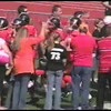 Video Archive Clip 2008 (Oct 4) - Yaden, Steven R. - Age 20 - Steven (#80, orange jersey, tight end) plays football for the Doane Tigers (Junior year) - Matt Franzen, Head Coach - Doane College (Tigers) of Crete, NE vs University of Sioux Falls of Sioux Falls, SD - Simon Field at Doane College - Original VHS Series (16 min)